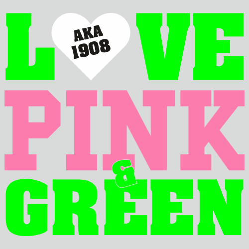 Love Pink And Green Aka 1908 Svg