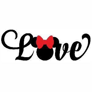 Love Disney vector
