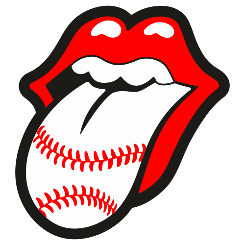 Baseball Tongue Svg