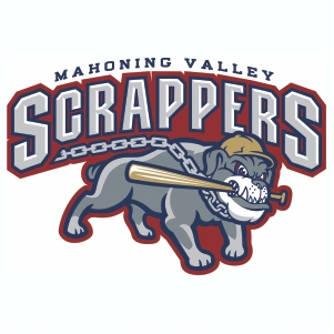 Mahoning Valley Scrappers Logos Vector