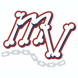 Vector Mahoning Valley Scrappers MV Logos