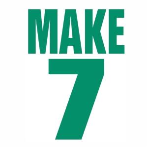Make 7 logo Vector
