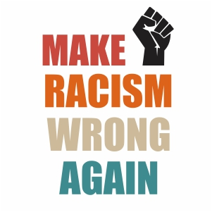 Make Racism Wrong Again Vector