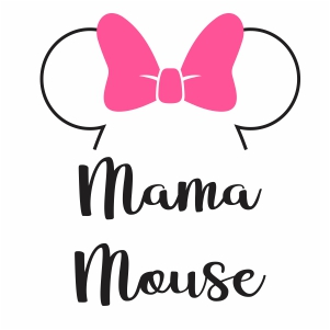 Mama Mouse Vector