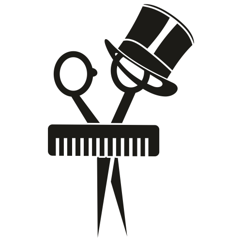 Man Hair Stylist svg