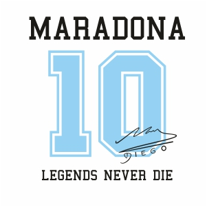 Maradona 10 Clipart