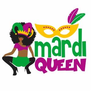 Mardi Gras Queen Vector