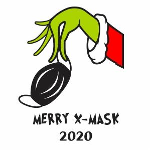 Merry X Mask 2020 Svg