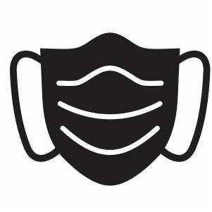 Medical Face Mask Svg File Face Mask Svg Cut File Download Jpg Png Svg Cdr Ai Pdf Eps Dxf Format