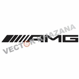 Mercedes AMG Logo Svg