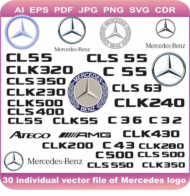 mercedes car pack logo