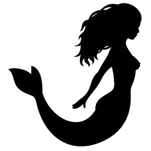 Cute Mermaid Svg