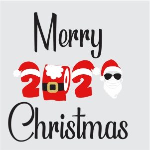44+ Merry Christmas Santa, Ho Ho Ho, Svg/Dxf/Eps/Png/Jpg/Pdf Crafter Files