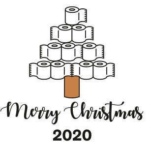 Merry Christmas 2020 Vector
