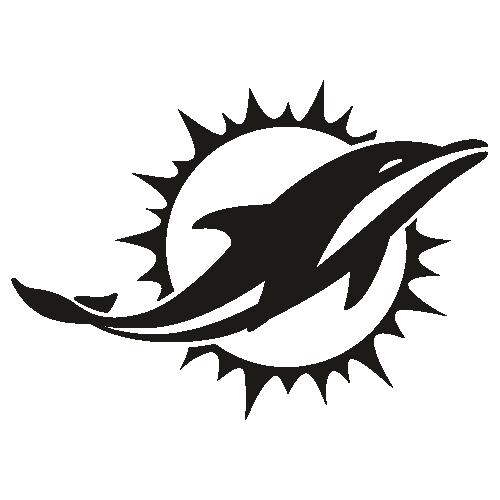 Miami Dolphins Black Svg
