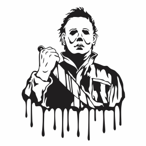 Michael Myers killer Vector