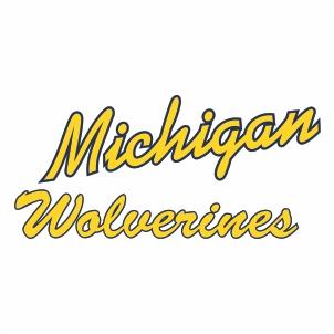 Michigan Wolverines Logo Vector