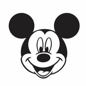 Mickey Mouse Face vector