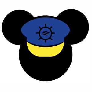 Mickey Mouse Cap svg cut file