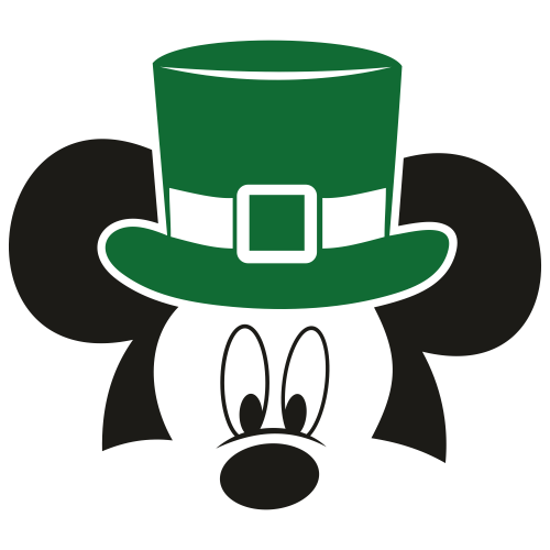 Mickey Mouse Face Svg