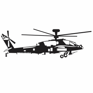 Army Military Helicopter Svg