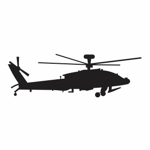 Flying Army Helicopters Svg