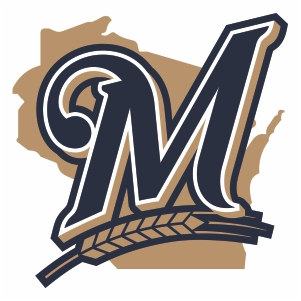 Milwaukee Brewers M Logo Vector