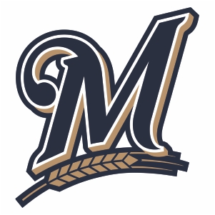 Milwaukee Brewers M Logo Svg