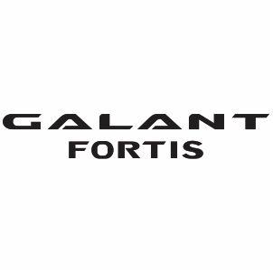 Mitsubishi Galant Fortis Logo Vector