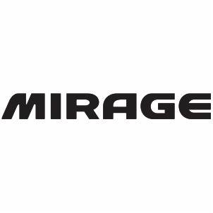 Mitsubishi Mirage Logo Svg