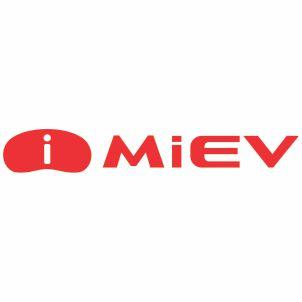 Mitsubishi  I Miev Logo Vector File
