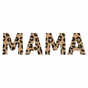 Mama Leopard Vector