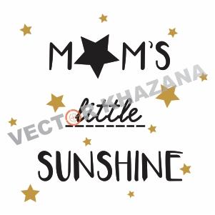 Free Moms Little Sunshine Logo Svg