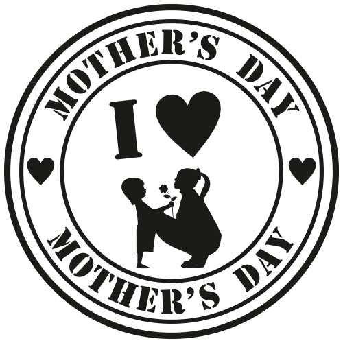 Mothers day Logo Svg