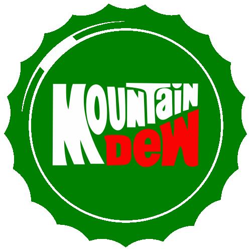 Mountain Dew Circle Brand Svg