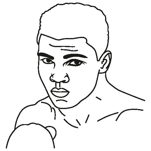Muhammad Ali Svg