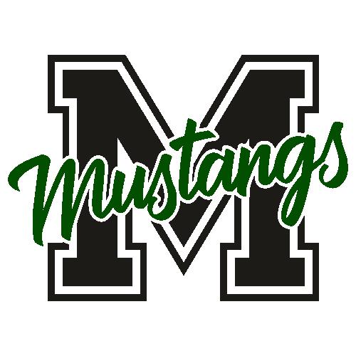 Mustang High School Mascot Svg