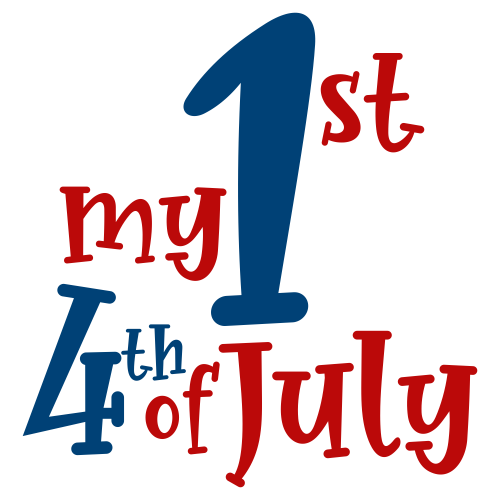 My 1st 4th of July Svg