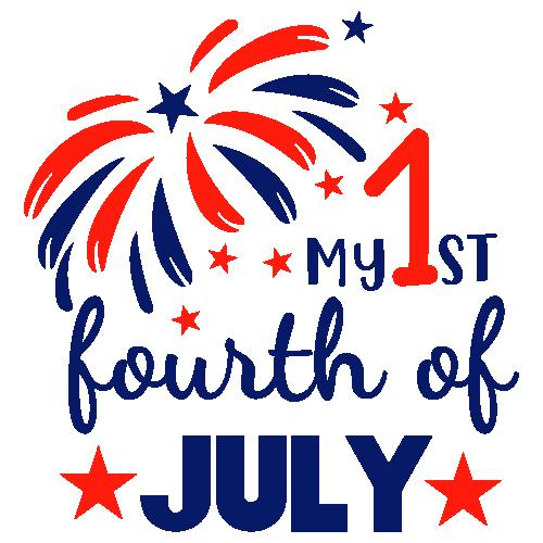 My 1st Fourth of July Svg