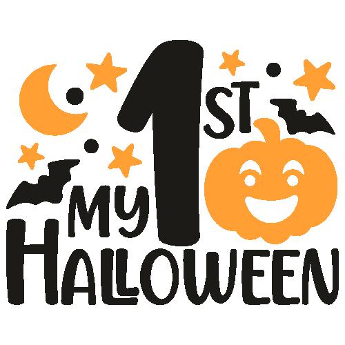 My 1st Halloween Pumpkin Svg