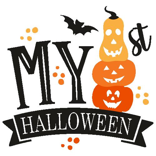 My First Halloween SVG