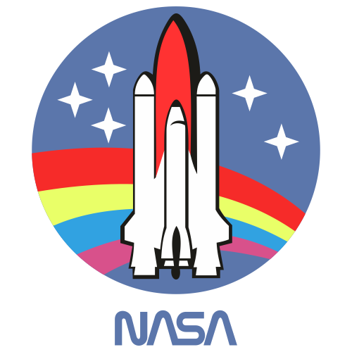 NASA Space Shuttle Vintage Svg