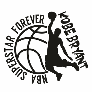 Nba Superstar Forever Kobe Svg