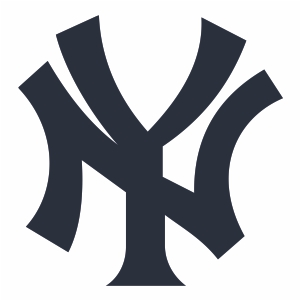 New York Yankees Jersey Logo Vector