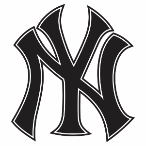 New York Yankees Cut Logo