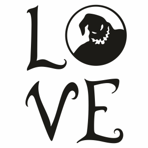 Oogie Boogie Love Svg