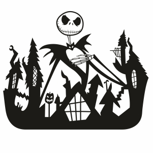 Jack Skellington Svg