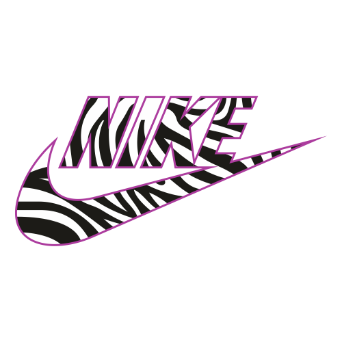 Nike Animal Print Logo Svg
