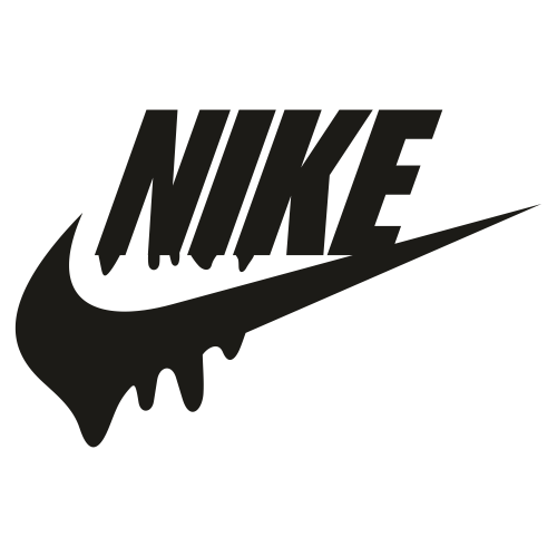 Nike Dripping Logo Svg