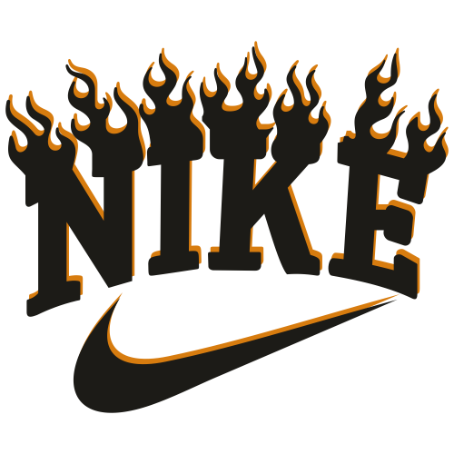 Nike Fire Svg